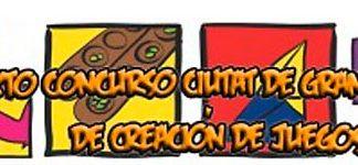 Logotipo de la pasada edición del Concurso Ciutat de Granollers de creación de juegos