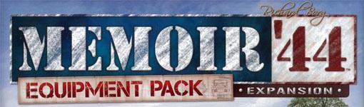 Logotipo de la expansión equipment pack de Memoir 44