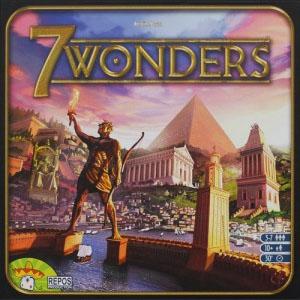 Caja del juego 7 Wonders