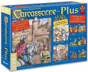 Caja de Carcassonne Plus