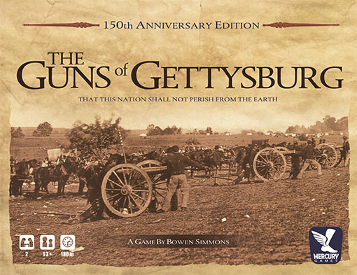 Caja de Guns of Gettysburg