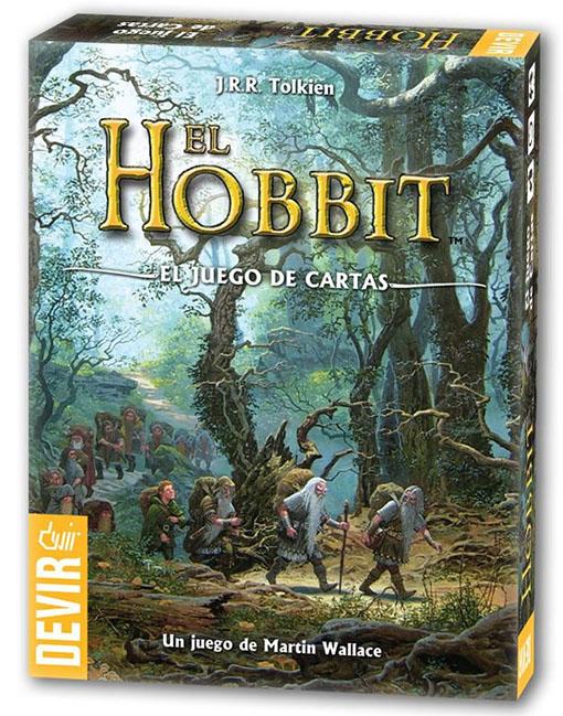 ccaja del juego de cartas de El Hobbit