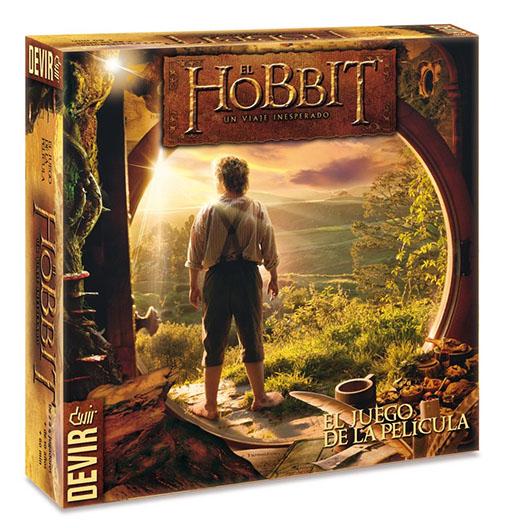 Caja del juego el Hobbit un viaje inesperado