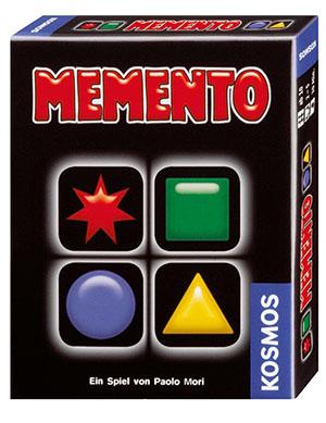 Caja del juego Memento