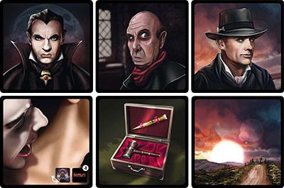 Cartas del juego Nosferatu