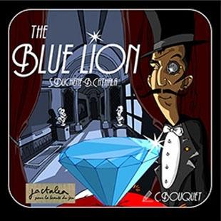 Portada de The Blue lion de jactalea