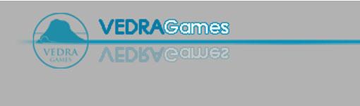 Logo de Vedra games editores de Colonial Space wars