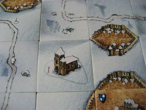 Losetas de Carcassonne Invierno