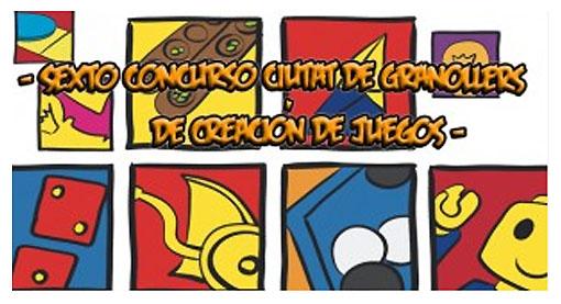 Logotipo del concurso de creación de juegos Ciutat Granollers