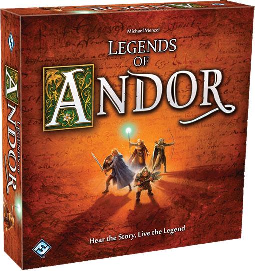Caja del juego Legends of Andor