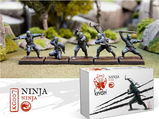 Ninjas de Kensei