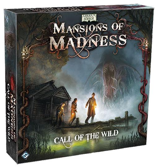 Caja de Call of Wild expansión para las mansiones de la locura