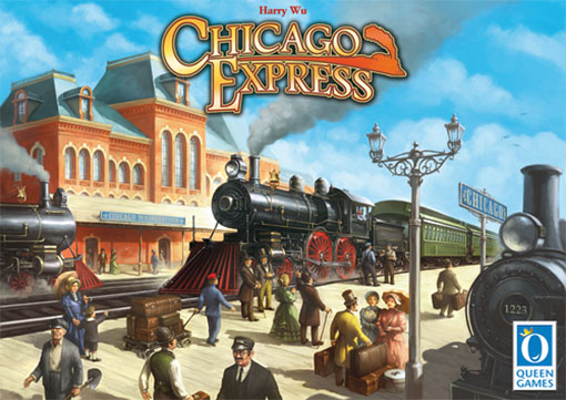 caja de Chicago express editado por Queen Games