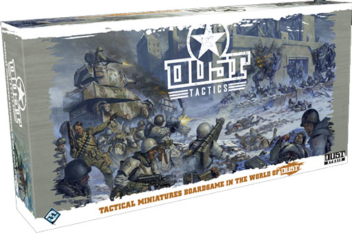 Caja de Dust Tactics de Edge