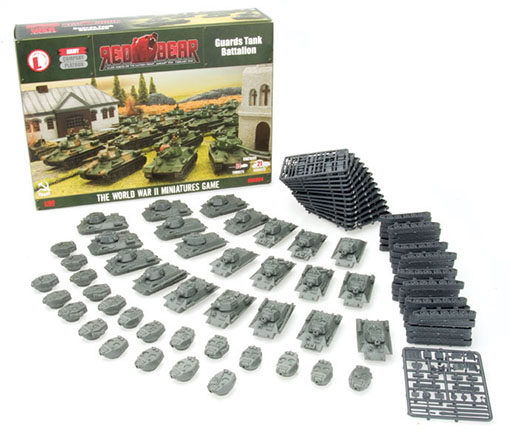 Batallón de tanques sovieticos de Flames of War
