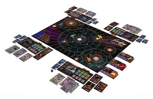 Componentes del juego Firefly