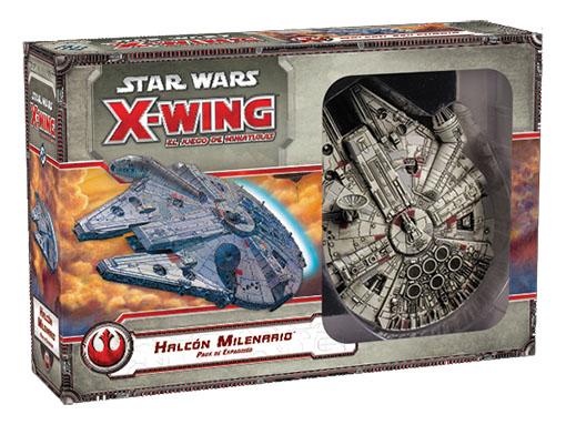 Caja para X-Wing del Halcon Milenario