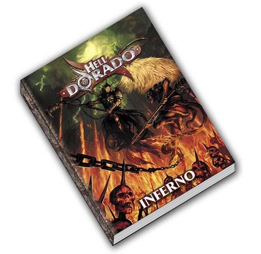 Libro de Hell Dorado Inferno