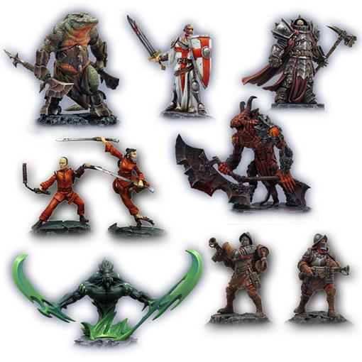 Miniaturas de Hell Dorado