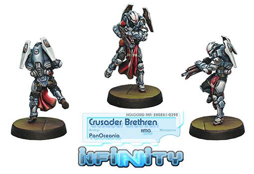 Hermanos cruzados con ametralladora pesada de infinity