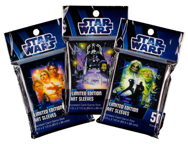 Fundas limitadas para cartas de Star wars de Edge