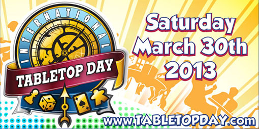 Banner del tabletop day
