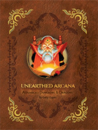 Nueva edicion de Unearthed arcana de wizard of the coast