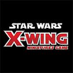 Logo del juego de miniaturas X-Wing