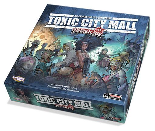 Zombicide Toxic City Mall, Nuevas expansiones