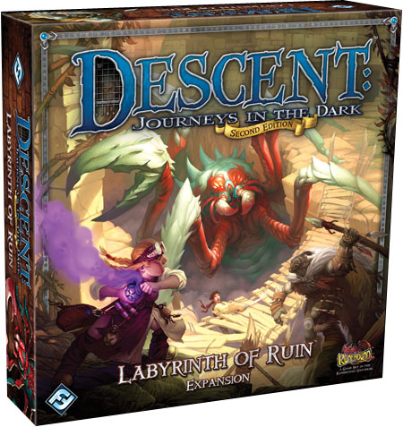 Caja de labyrinth of ruins
