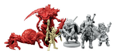 Miniaturas de labyrinth of ruins