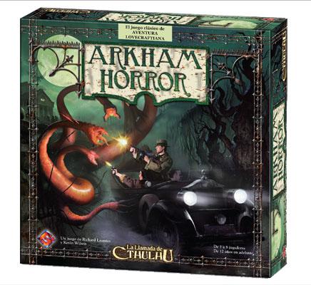 Caja del juego Arkham Horror
