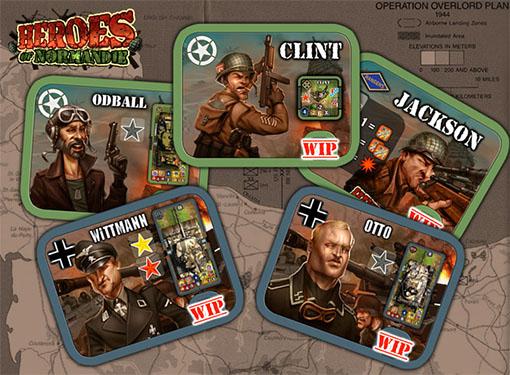 Heros del juego Heroes of Normandie