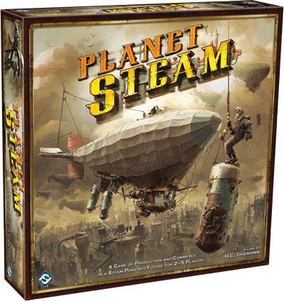 Caja de la nueva edición de Planet Steam