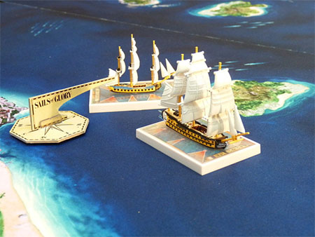 Batalla de Sails of Glory