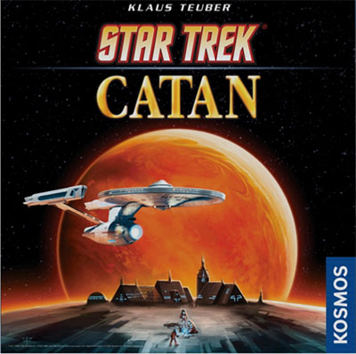 Caja de Star Trek catan de Devir