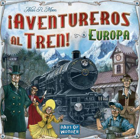Caja de aventureros al tren europa
