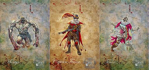 Carnival Zombie Concept Art