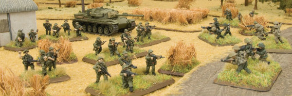 Diorama Flames of War Vietnam ANZAC