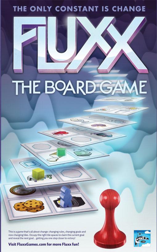 Portada de Fluxx, el juego de tablero