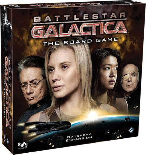 Caja de la expansión de galactica Daybreak