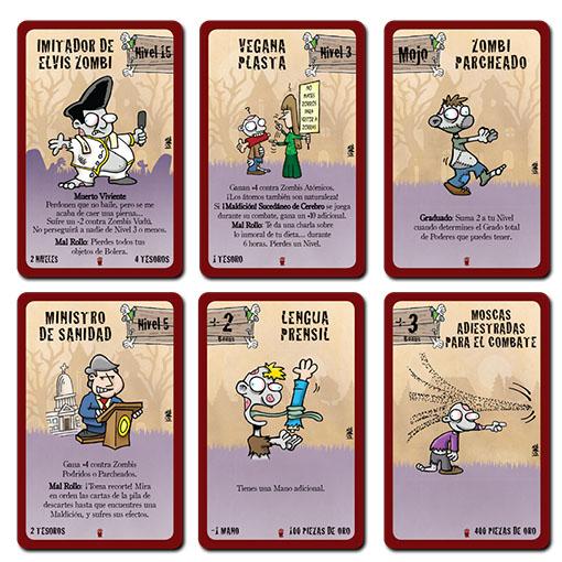 Cartas de Munchkin Zombie 2