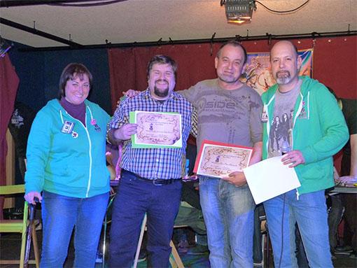 Ganadores del primer concurso ojo al dado