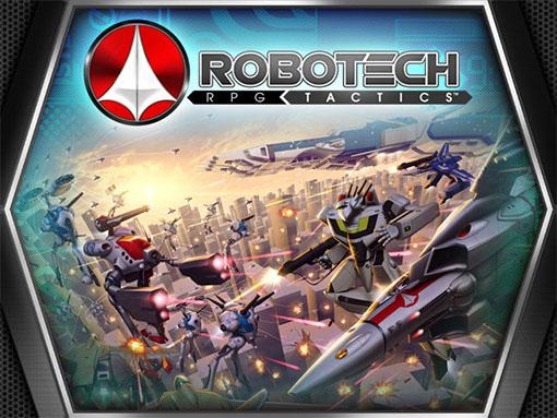 Portada de Robotech RPG Tactics