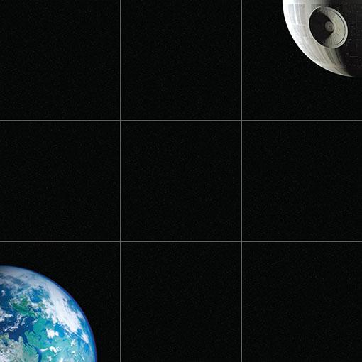 Ejemplo de mapa modular para X-Wing
