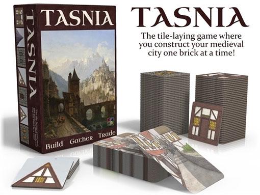 Caja y componentes de Tasnia