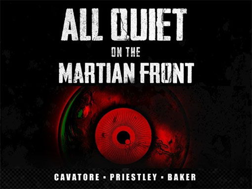 Portada de All Quiet on the martian front