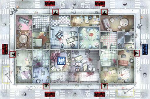 Mapa de Asedio de Zombicide