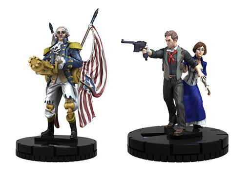 Miniaturas de Bioshock infinity de heroclix
