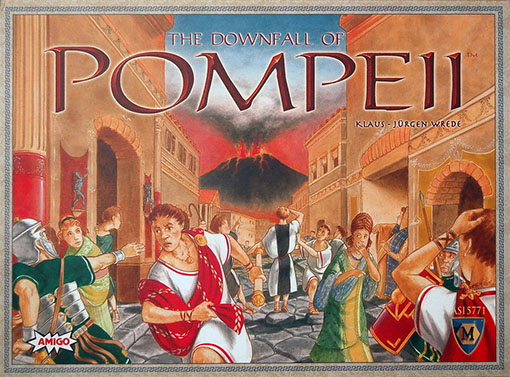 Caja de The Fall of Pompeii